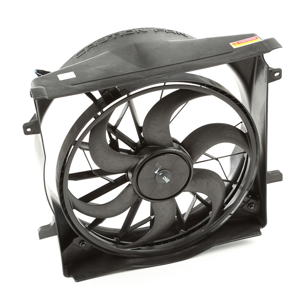Radiator and Engine Cooling Fan Kit