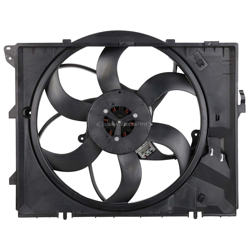 BMW 328i xDrive Cooling Fan Assembly