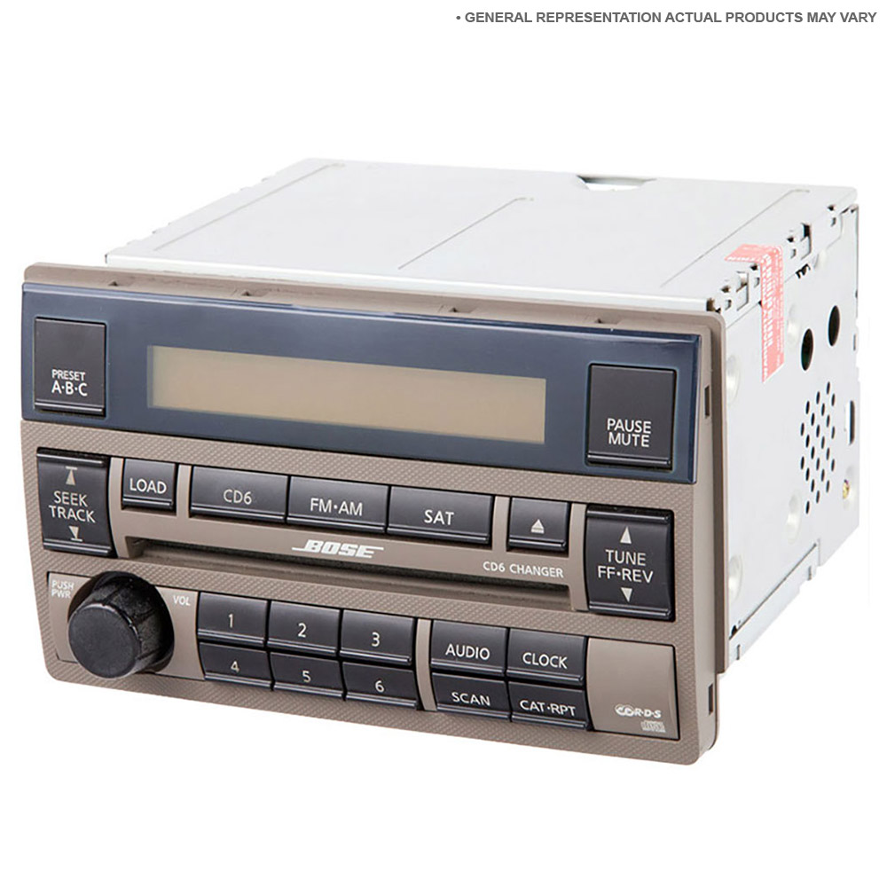 Toyota Radio Or Cd Player Parts, View Online Part Sale