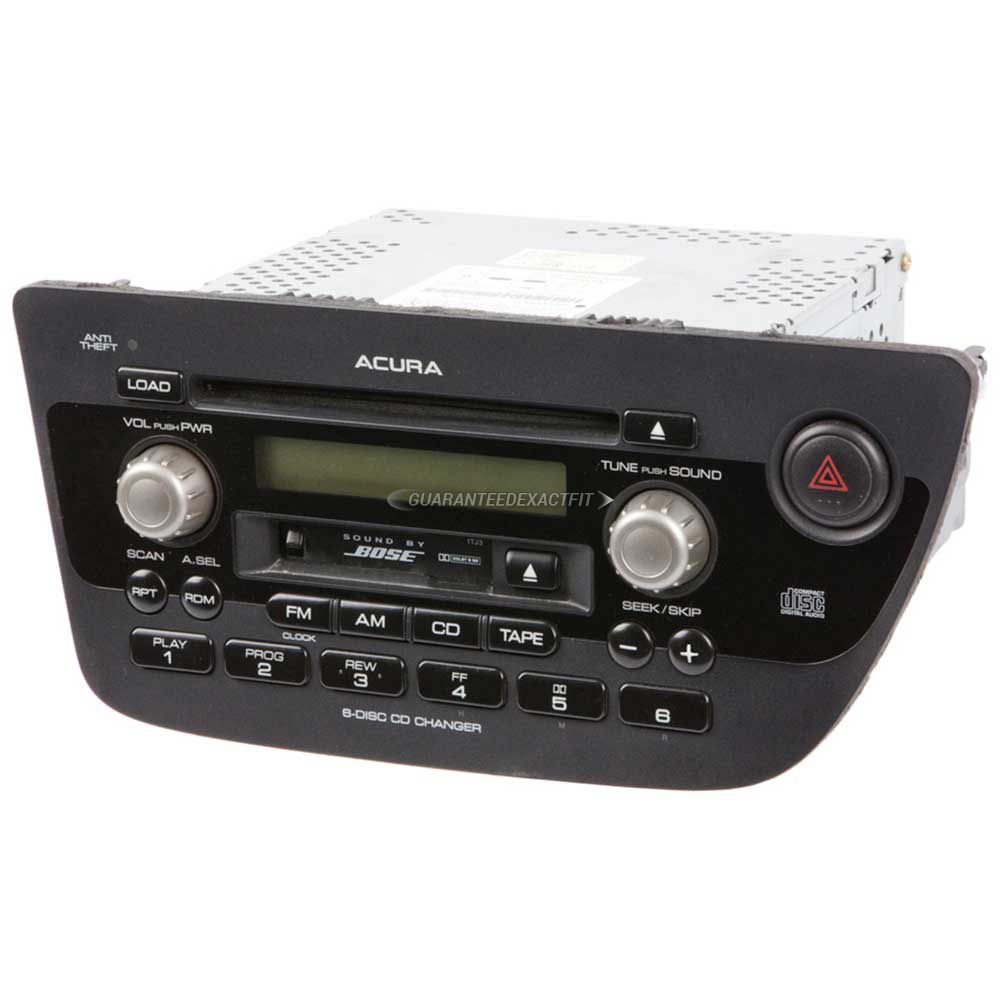 2002 Acura RSX Radio Or CD Player AM-FM-Cassette-6CD Radio