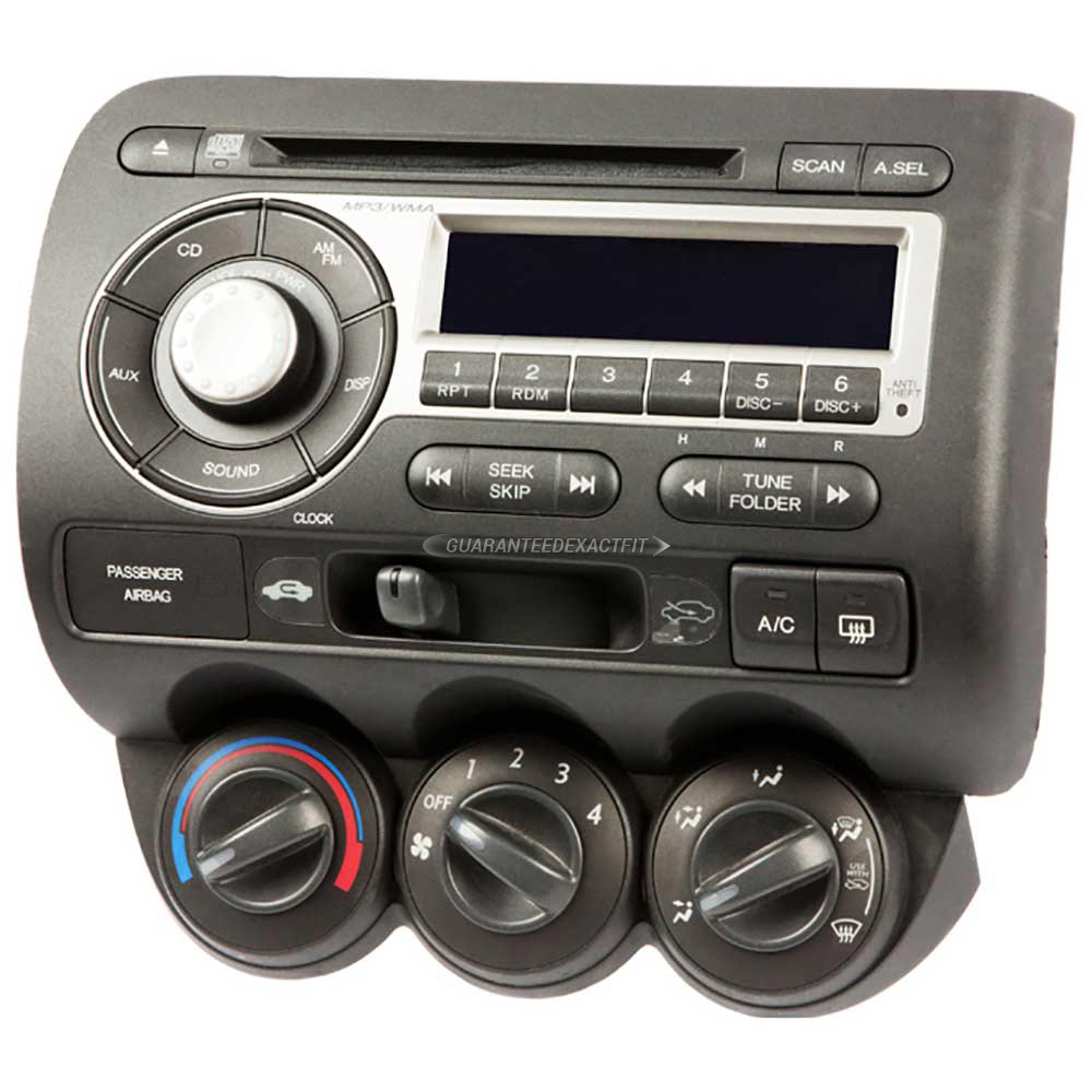 Radio Or Cd Players Remanufactured For Honda Fit 2007 2008 Oem Ref
