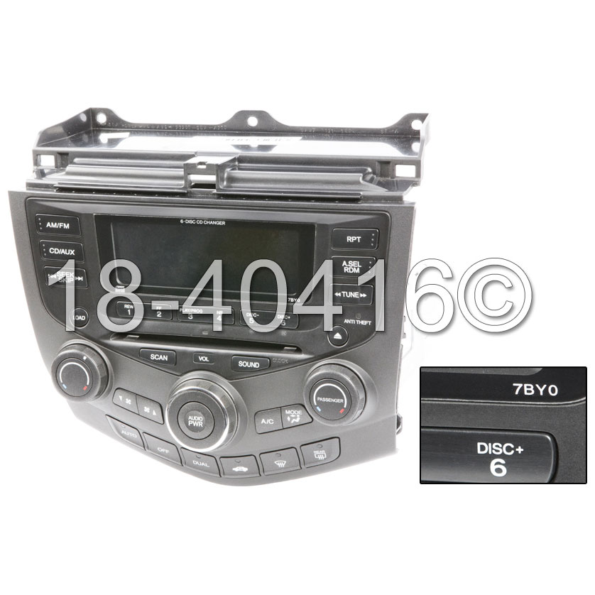Radio or CD Player 18-40416 R