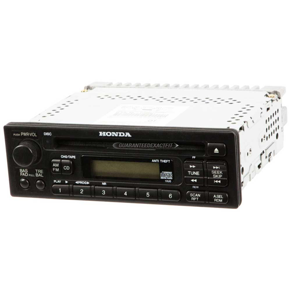 Radio Or Cd Players Remanufactured For Honda Accord Prelude Odyssey Parts Diagram Also 2003 Player