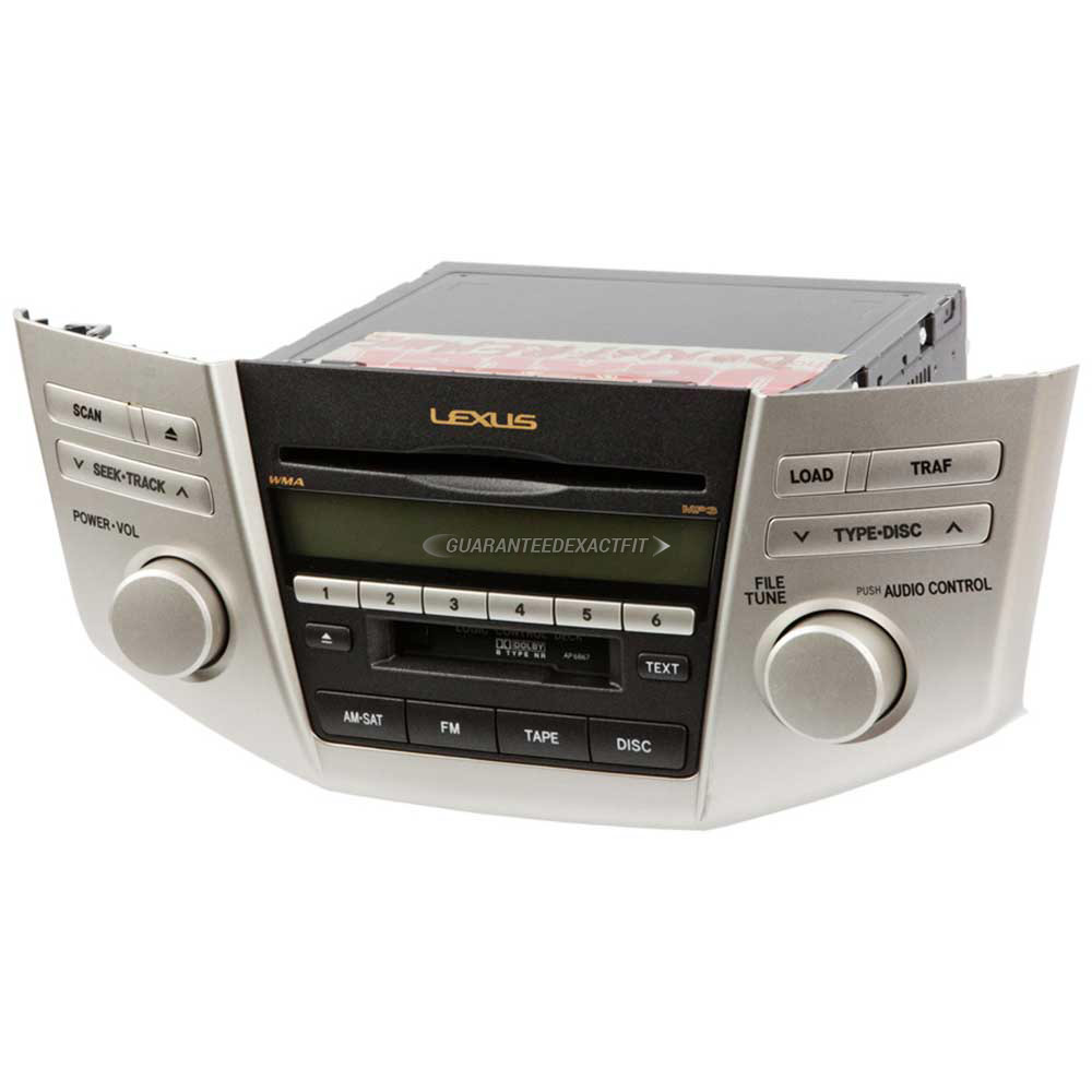 Lexus RX350 Radio Or CD Player Parts, View Online Part