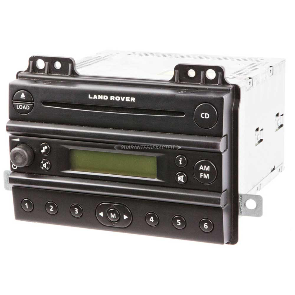 Land Rover Freelander Radio Or CD Player Parts, View