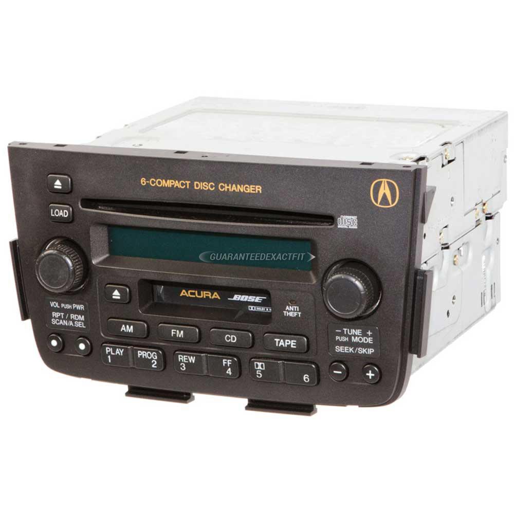 2004 Acura MDX Radio Or CD Player AM-FM-Cass-6CD Radio