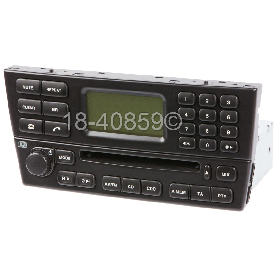 Jaguar X Type Radio or CD Player