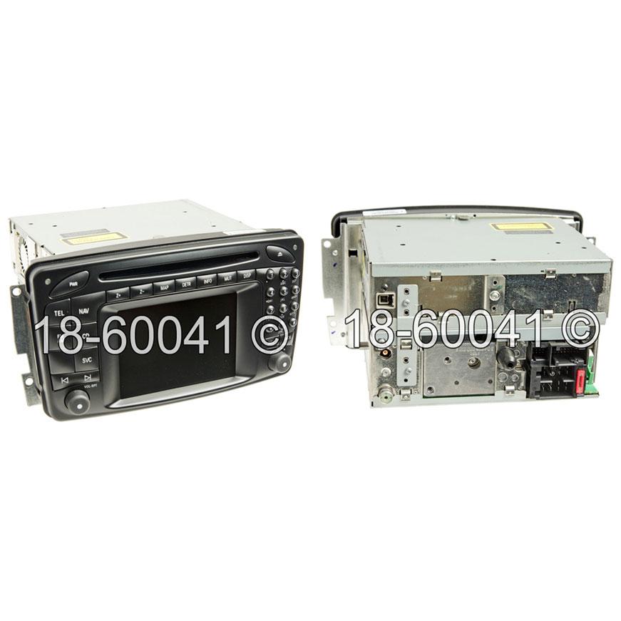 Mercedes_Benz CLK550 Navigation Unit