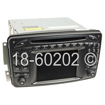 Mercedes_Benz G500 Navigation Unit