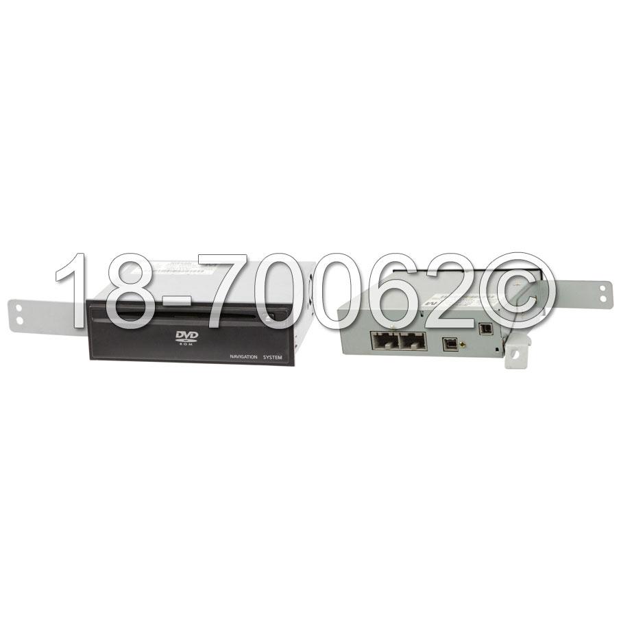 Nissan 350Z DVD Navigation Module
