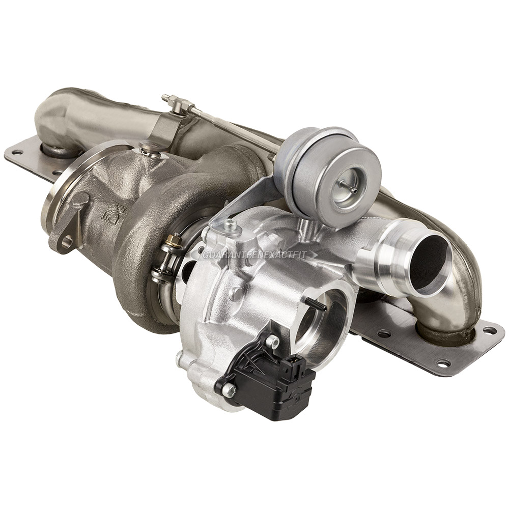 BMW ActiveHybrid 7 Turbocharger