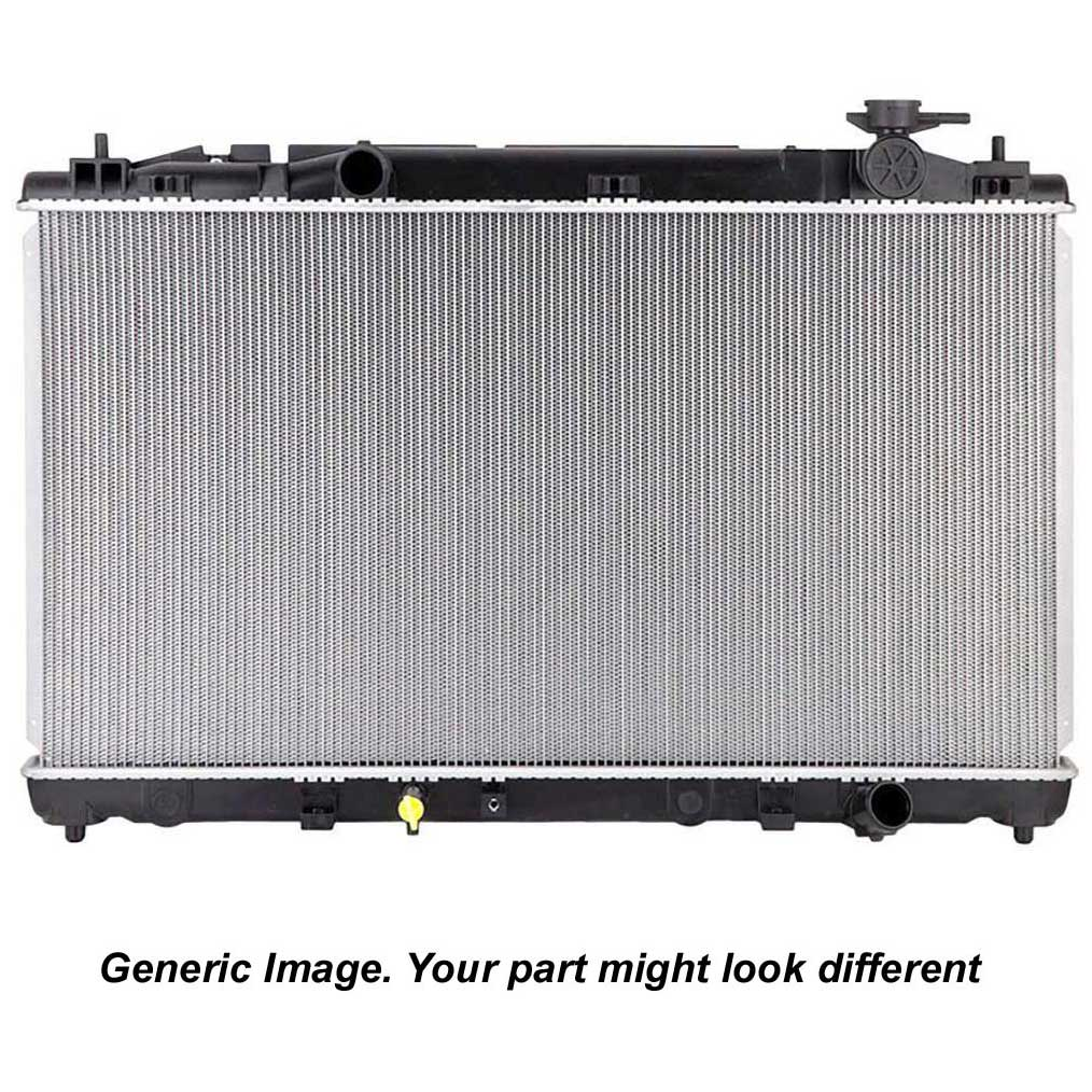 2003 Lincoln Aviator Radiator