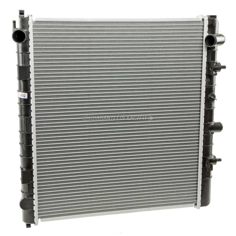 2001 Land Rover Range Rover Radiator Models Without Air