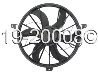 Jeep  Cooling Fan Assembly