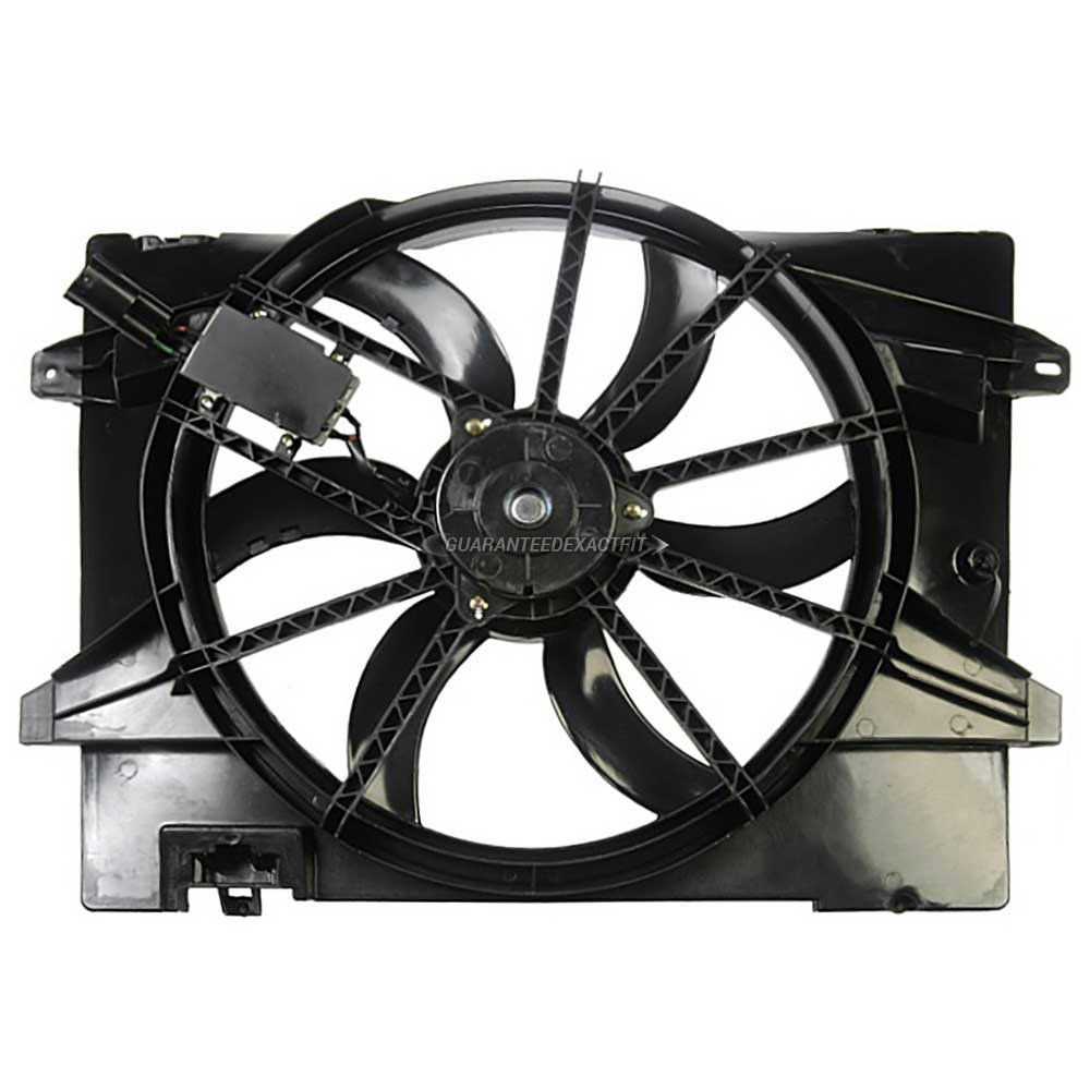Lincoln  Cooling Fan Assembly
