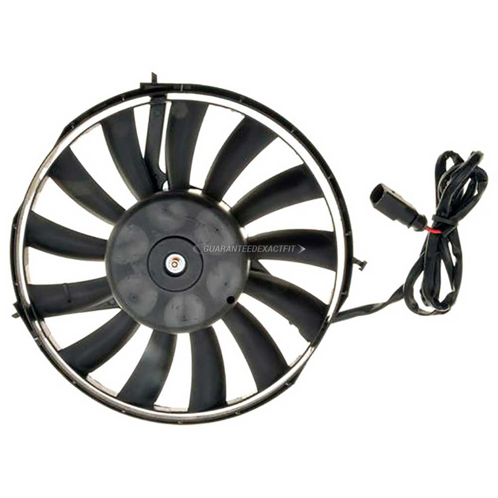 Audi A6 Cooling Fan Assembly