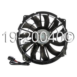 Audi RS4 Cooling Fan Assembly