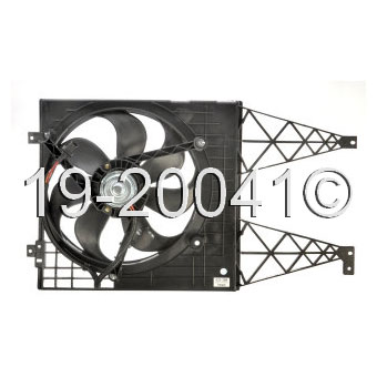 Volkswagen  Cooling Fan Assembly