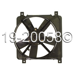 Chevrolet Lumina APV - Minivan Cooling Fan Assembly