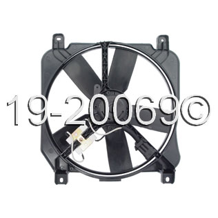 Oldsmobile LSS Cooling Fan Assembly