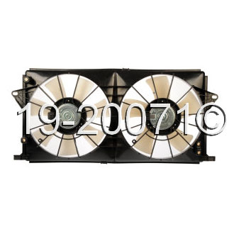 Cadillac  Cooling Fan Assembly