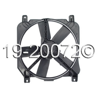 Cadillac Deville Cooling Fan Assembly