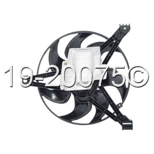 Buick Regal Cooling Fan Assembly