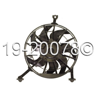 Oldsmobile Achieva Cooling Fan Assembly
