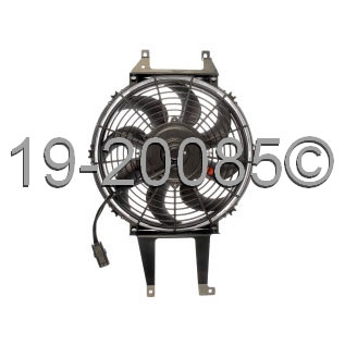 Chevrolet P-Series Chassis Cooling Fan Assembly