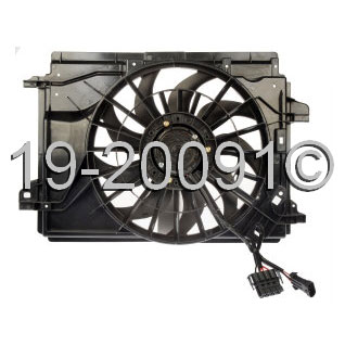 Cadillac XLR Cooling Fan Assembly