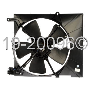 Chevrolet Aveo Cooling Fan Assembly