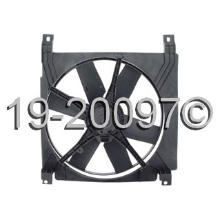 Chevrolet Corsica Cooling Fan Assembly