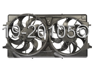 Saturn  Cooling Fan Assembly
