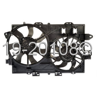 Chevrolet Equinox Cooling Fan Assembly