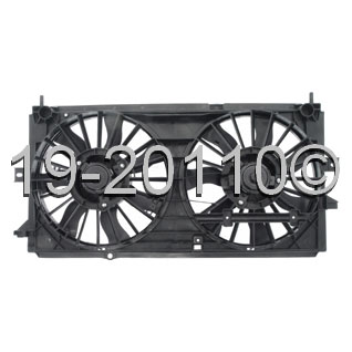 Chevrolet Impala Cooling Fan Assembly