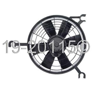 Chevrolet Lumina APV - Minivan Cooling Fan Assembly