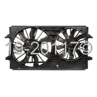 Chevrolet Malibu Cooling Fan Assembly