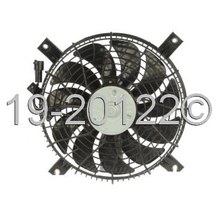 Chevrolet Tracker Cooling Fan Assembly