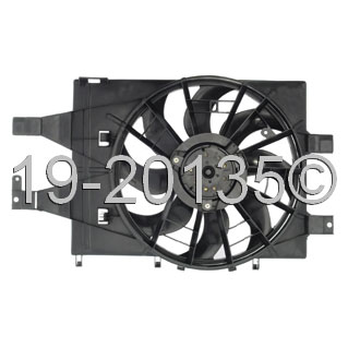 Plymouth Acclaim Cooling Fan Assembly