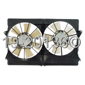 Chrysler Pacifica Cooling Fan Assembly