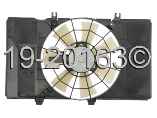 Plymouth  Cooling Fan Assembly