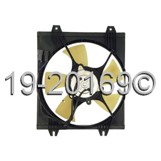 Dodge Stealth Cooling Fan Assembly