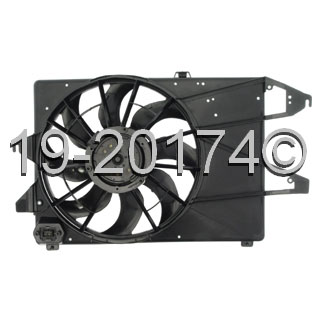 Ford Contour Cooling Fan Assembly