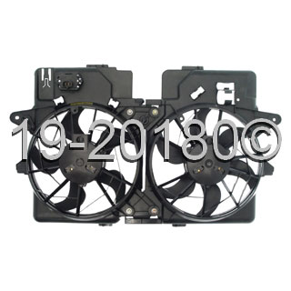 Mazda  Cooling Fan Assembly