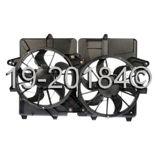Mercury Marquis Cooling Fan Assembly