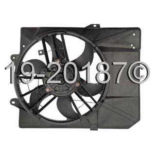 Mercury Tracer Cooling Fan Assembly