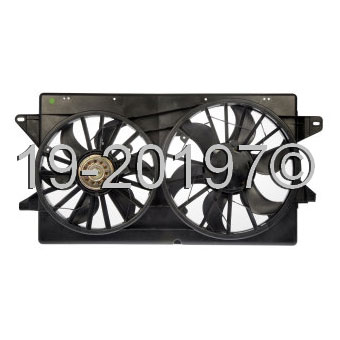 Mercury Monterey Cooling Fan Assembly