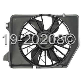 Mercury Sable Cooling Fan Assembly