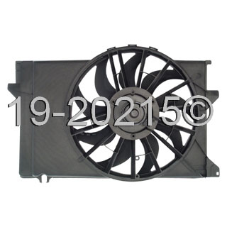 Ford Tempo Cooling Fan Assembly