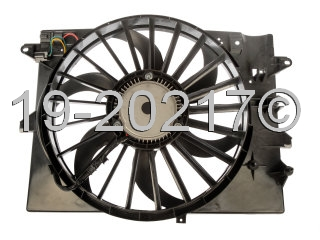 Ford Thunderbird Cooling Fan Assembly